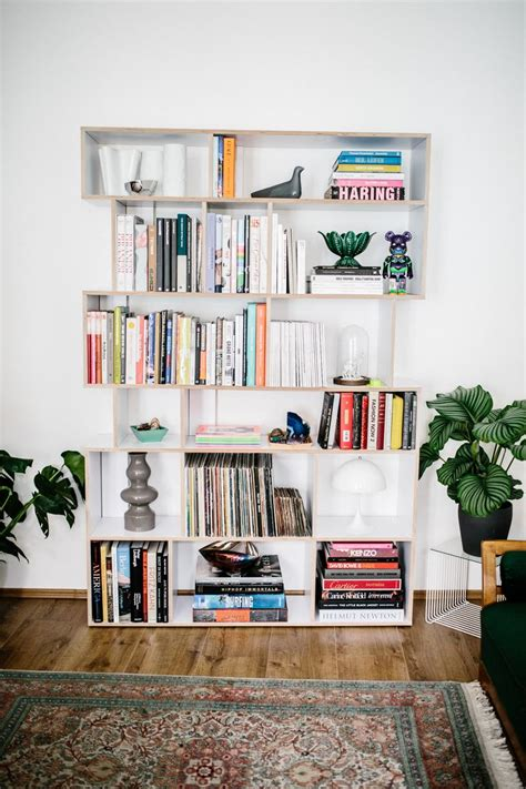 makeshift bookshelf home design