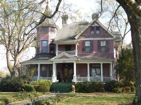 Victorian Farmhouse Style by Free Images Architecture White Street Mansion Town