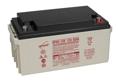 Batrey Yuasa Np 65 12 enersys genesis np65 12 vrla 12 volt 65ah battery county