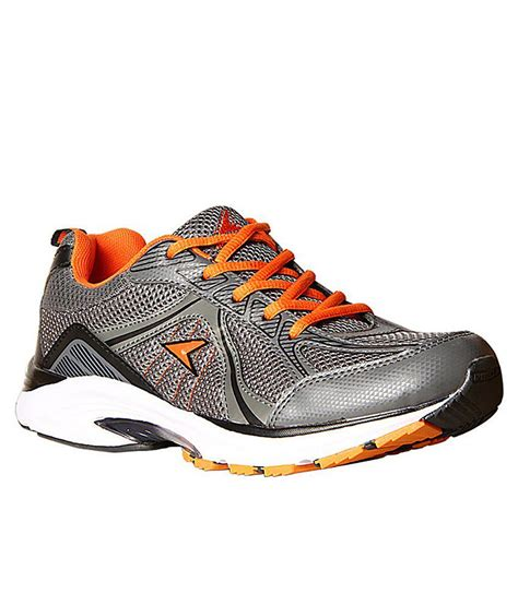power gray colour sport shoes price in india buy power