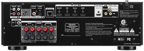 amazoncom denon avr   channel  home theater av