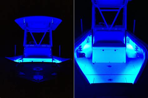 white led boat lights boat jet ski led lighting kit multi strip remote