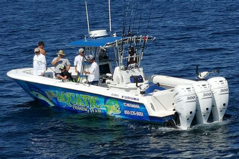 deep sea fishing boat setup things to do in panama city beach pontoons dolphins