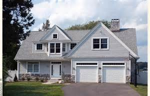 Cape Houses With Dormers Cape Cod House Garage In Front An Achitect Designed Cape