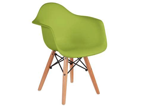 chaise enfant eames chaise enfant eames daw vert