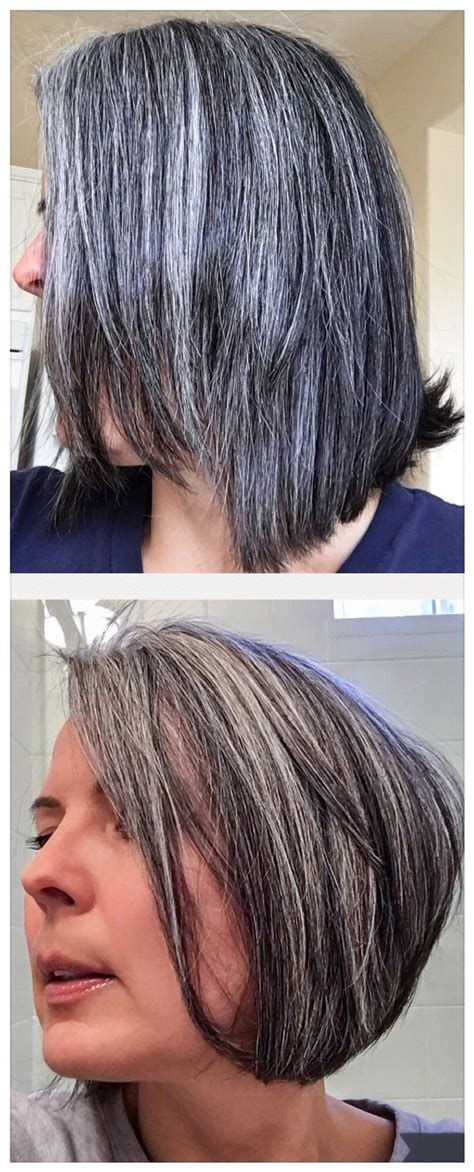 why is grey hair hard to manage 92 best images about growing out my gray hair on pinterest