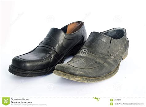 used shoes new and used shoes stock photo image 59071544