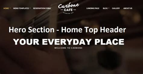 Cssigniter Carbone Review For Restaurants Cafes Truth
