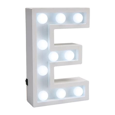 lettere led led letter e white 15 x 21 x 5 cm ace