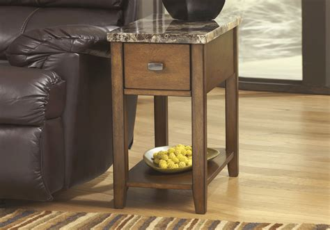 marble end tables living room breegin marble top chairside end table louisville overstock warehouse