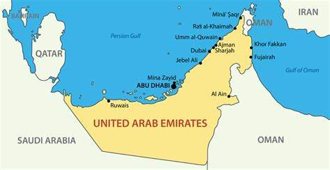 middle east map including dubai teaching in the middle east dynamic personnel