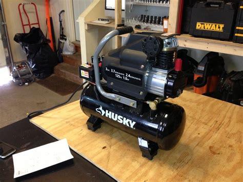 husky 3 gallon portable air compressor l13hpd tools in power tool reviews