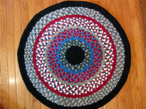 rug braiding 33 quot wool braided rug country braid house
