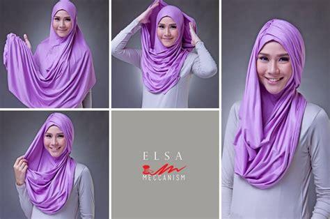 tutorial hijab pasmina simple gambar kumpulan tutorial hijab modern pashmina kaos simple model baru