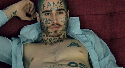 meet the model with the dumbest face tattoos dreaming of