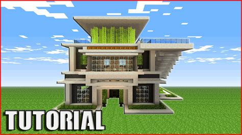 how can i build my at home minecraft tutorial how to build a quartz house modern house tutorial how to make my