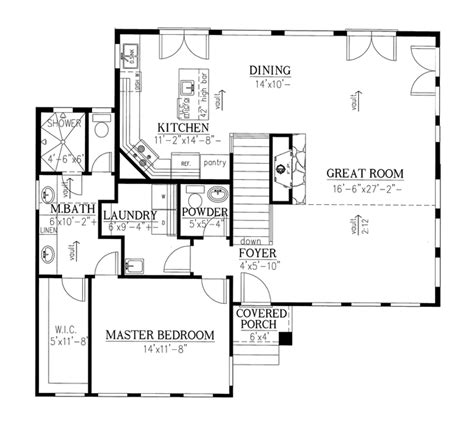 seth peterson cottage floor plan fabulous wall of windows hwbdo75888 contemporary modern houses house plan from