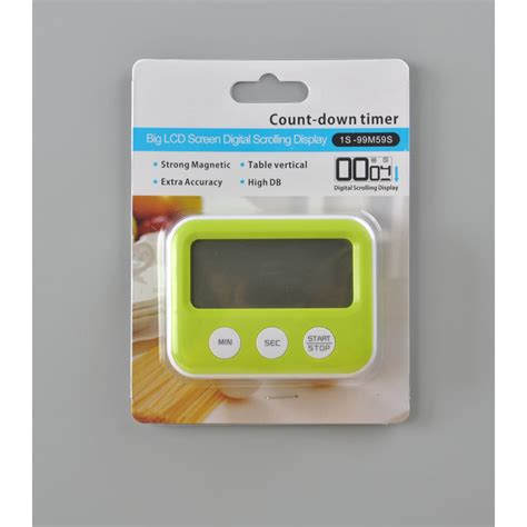 Diskon Digital Count Timer Masak Dapur Jp9913 digital count timer jp9913 green