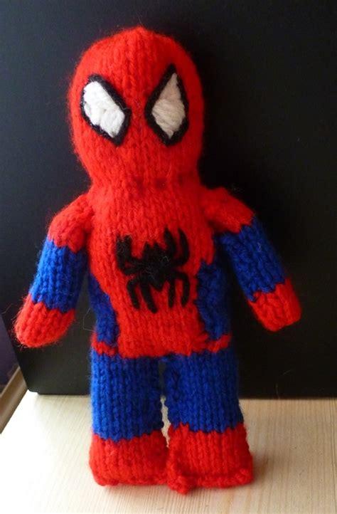 pattern spiderman free free spiderman knitting pattern knitting pinterest