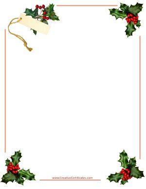 Free Christmas Borders Instant Download Navidad Ideas