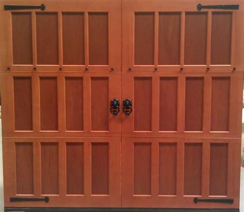 Garage Doors 8x7 by 8x7 Wood Overhead Carriage House Garage Door Ebay