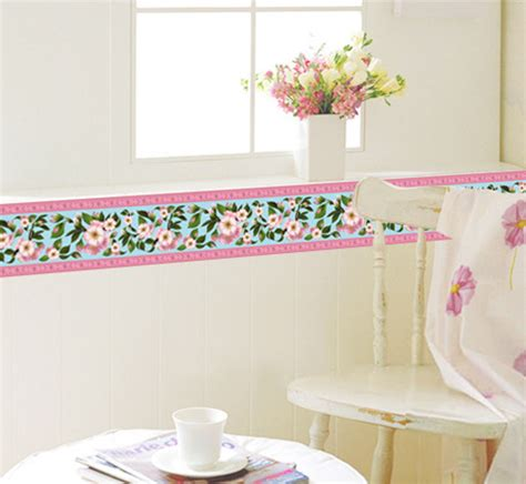 jual waistline flower ay9177 stiker dinding wall sticker farisha shop