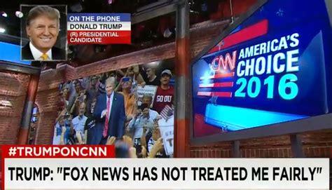 donald trump news trump continues caign against fox news tvnewser