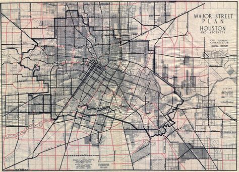 houston map company houston maps houston past