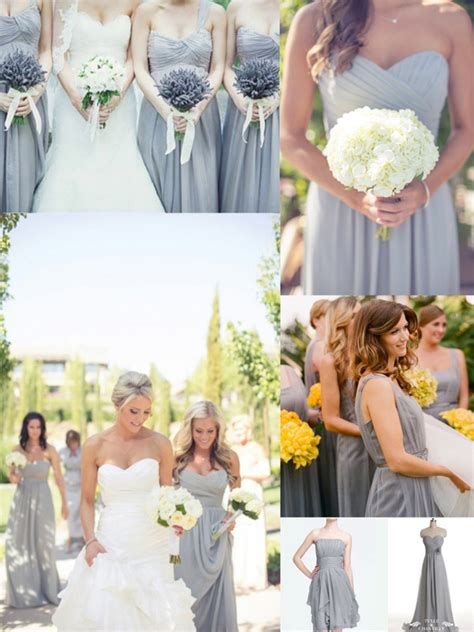 wedding colour schemes grey top 10 colors for bridesmaid dresses tulle chantilly