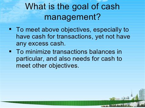 What Is Deferred Mba by Working Capital Management Ppt Bec Doms Mba Finance
