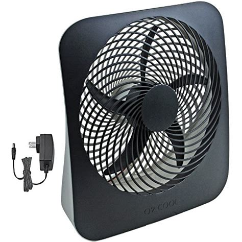 O2cool 10 Inch Portable Fan With Ac Adapter Desertcart