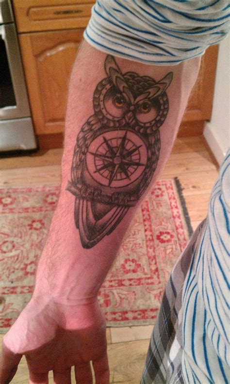 tattoo kings cross london 24 best compass owl tattoo images on pinterest owl