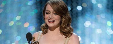 Emma Stone Tutti I Film | oscar ecco tutti i film premiati foto con un errore e