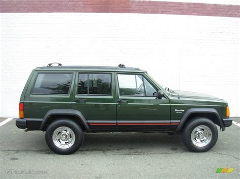 1996 moss green pearl jeep sport 18642954 photo 6 gtcarlot car color galleries