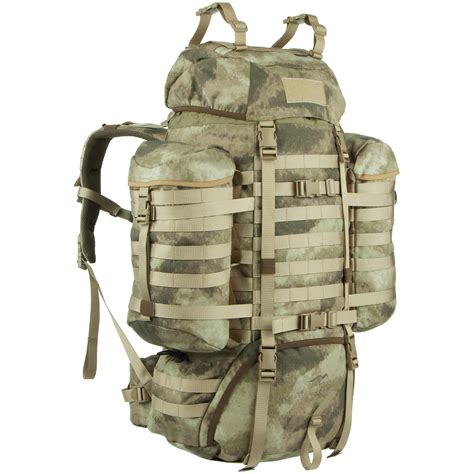 molle rucksack wisport 85l raccoon backpack tactical hiking hydration