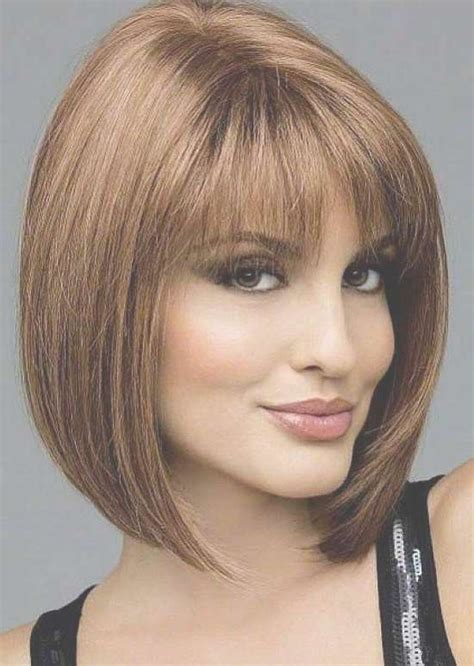 35 awesome bob haircuts with bangs makes you truly 15 best collection of bob haircuts with fringe