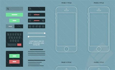 wireframe templates for photoshop mocking up interfaces free wireframing kits for photoshop