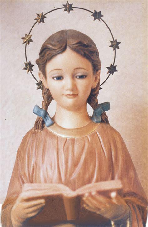 imagenes virgen maria niña patronos omp de colombia
