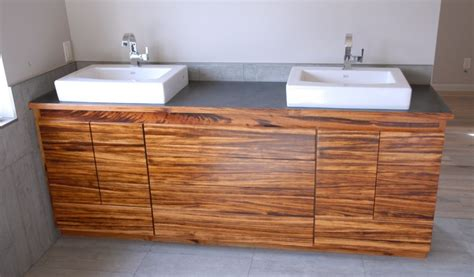 Design Of Cabinet For Kitchen by Sinks Tiger Wood Cabinet Ecocentric Design
