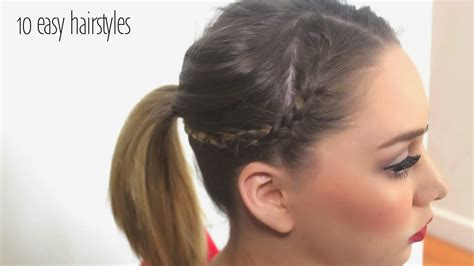 download quick and easy hairstyles 10 fast easy 10 quick and easy hairstyles in 5 minutes 10 easy everyday