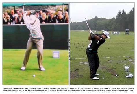 spine tilt in golf swing martin hall on quot the spine angle quot instruction and playing