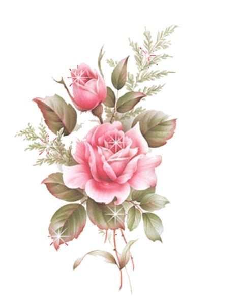 Vintage Flower L by Sticker For Ios Android Giphy