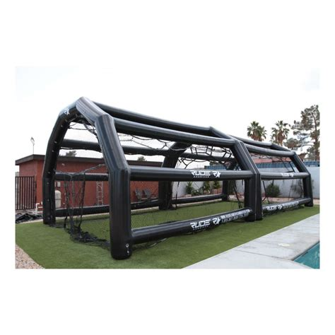 rude american inflatable batting cages rude american usa inflatable