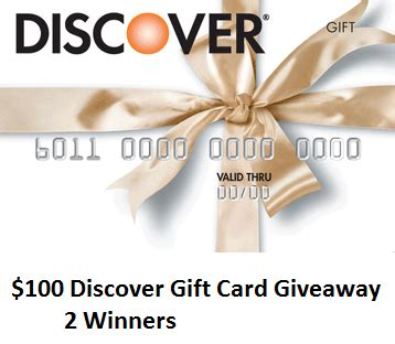 Discover Card Gift Cards - giveaway 200 in discover gift cards young adult money