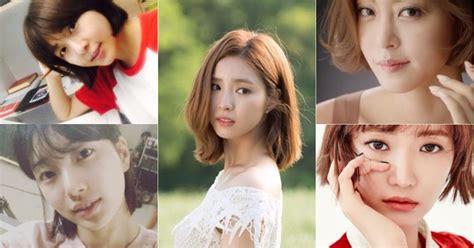 film korea hot short 9 น กแสดงสาวเกาหล ท ด สวยในล คผมส น