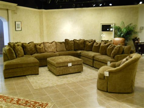 huge sectional couch big or small it s all about comfort the design center