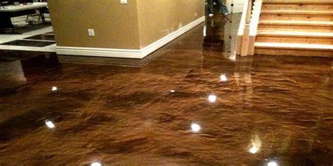Garage Floor Paint On Countertop Creating An Look In Your Garage With Metallic Epoxy