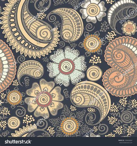 design pattern model seamless elegant paisley patternmodel design gift stock