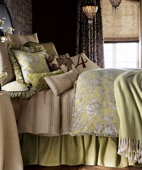 toile coverlet french laundry toile bedding collections