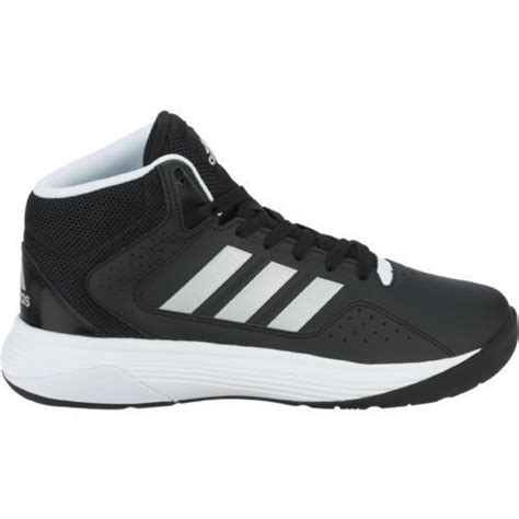 adidas wide basketball shoes adidas cloudfoam ilation basketball shoes in black with